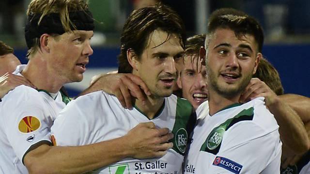 Marco Mathys bleibt bis 2016 beim FC St. Gallen