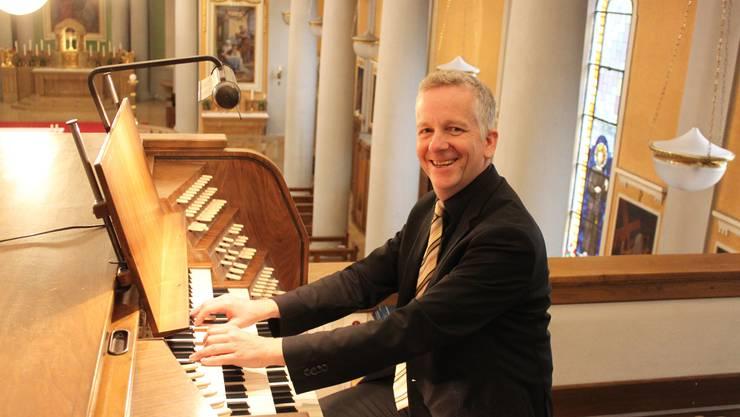 Für Bernhard Hörler gibt es nichts Schöneres als das Orgelspiel.