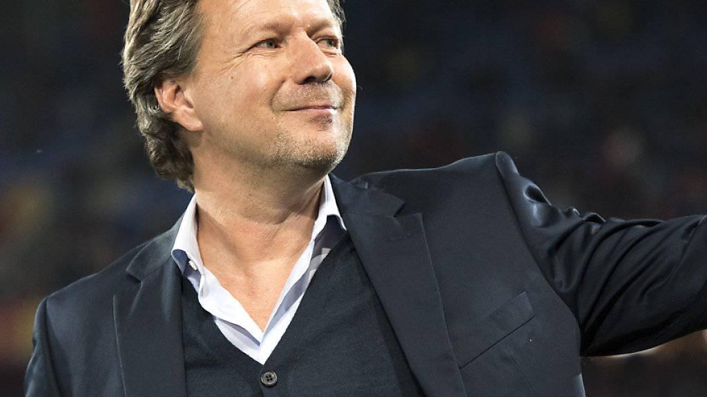 Leistet in Bielefeld gute Arbeit: Trainer Jeff Saibene