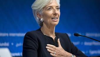 Bleibt weiterhin an der Spitze des Internationalen Währungsfonds IWF: Christine Lagarde. (Archiv)