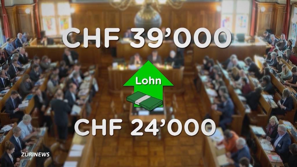 Einwand der SVP abgewendet: Kantonsrat gibt sich definitiv mehr Lohn