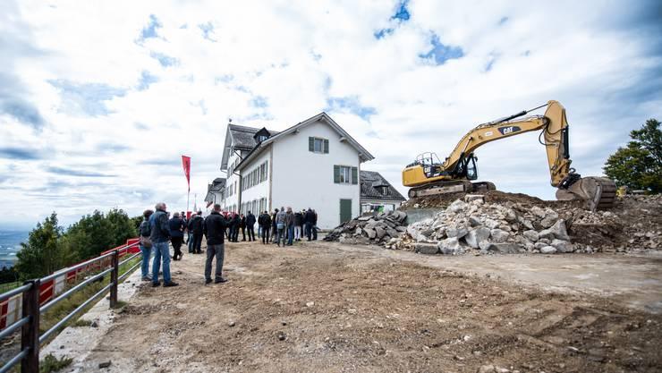 Der Startschuss zum Neubau des Hotel Weissenstein fällt am 11.September 2017.