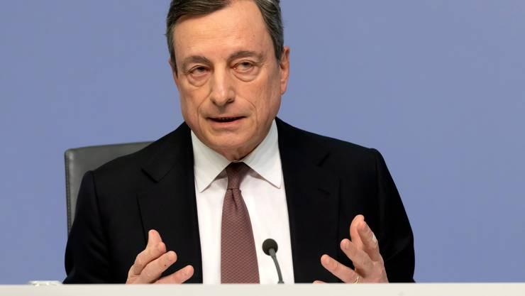 Mario Draghi ist Präsident der Europäischen Zentralbank.