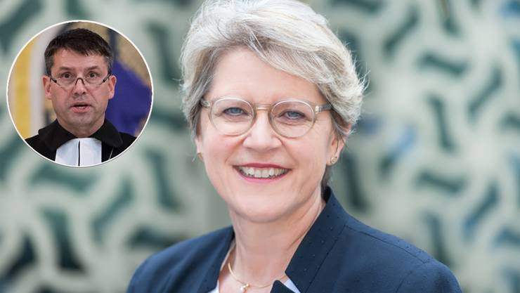 Fordert den Kirchenbundspräsidenten Gottfried Locher heraus: Rita Famos, Pfarrerin aus Zürich.
