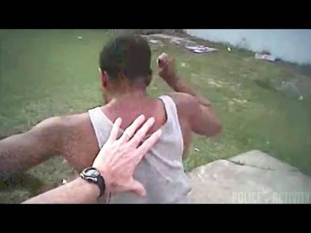 Verbrecher jagen, Veloketten montieren, Frisbees fangen: Was die Polizisten in der US-Stadt Tampa so alles mit ihren Body-Cams aufzeichnen.