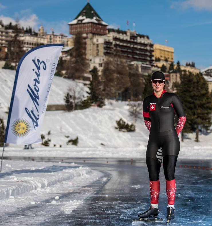 Ramona Härdi holte an den Schweizer Meisterschaften in St. Moritz gleich viermal Gold.