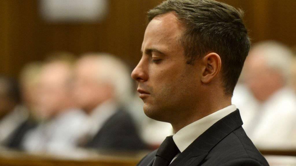 Oscar Pistorius während der Gerichtsverhandlung am 21. Oktober 2014 in Pretoria. (Archiv)