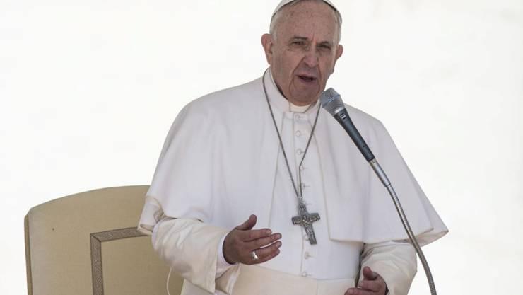 Papst Franziskus (Archiv)