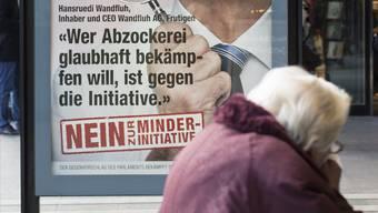 Die Basler SVP ist gegen die Abzocker-Initiative (Symbolbild)