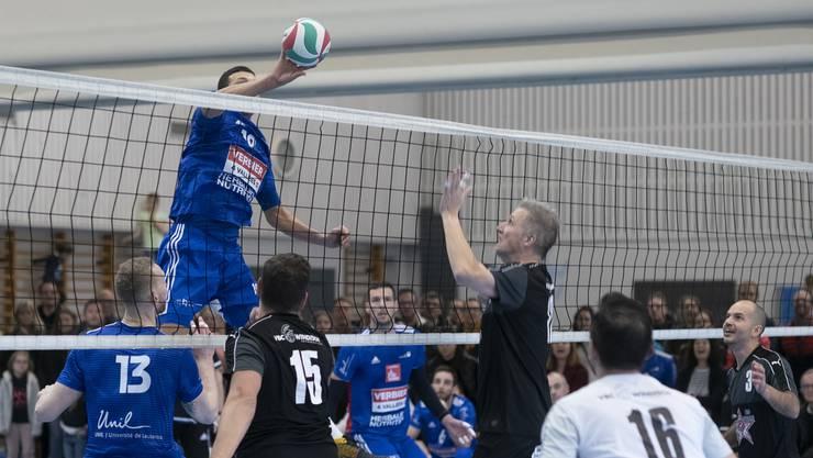 Nachdem sich der VBC Windisch furios in den Cup-Achtelfinal spielen konnte, scheitert er dort an Lausanne UC.
