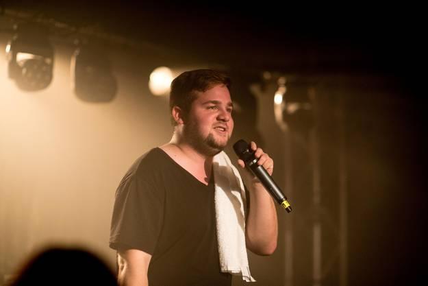 Johnny Trash auf der Bühne