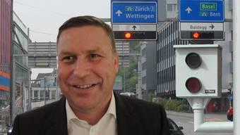 Der Nussbaumer SVP-Grossrat Martin Keller sprach sich gegen fest installierte Blitzer aus.