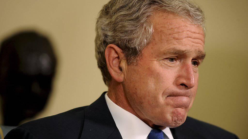 Ex-Präsident George W. Bush gibt seine Stimme keinem der Präsidentschaftskandidaten. (Archivbild)