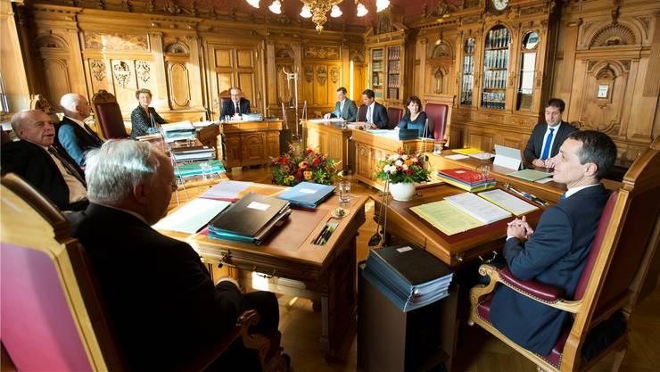 Blick ins Bundesratszimmer: Gewisse inoffizielle Wahlkriterien aus früheren Jahrzehnten haben sich aufgelöst.