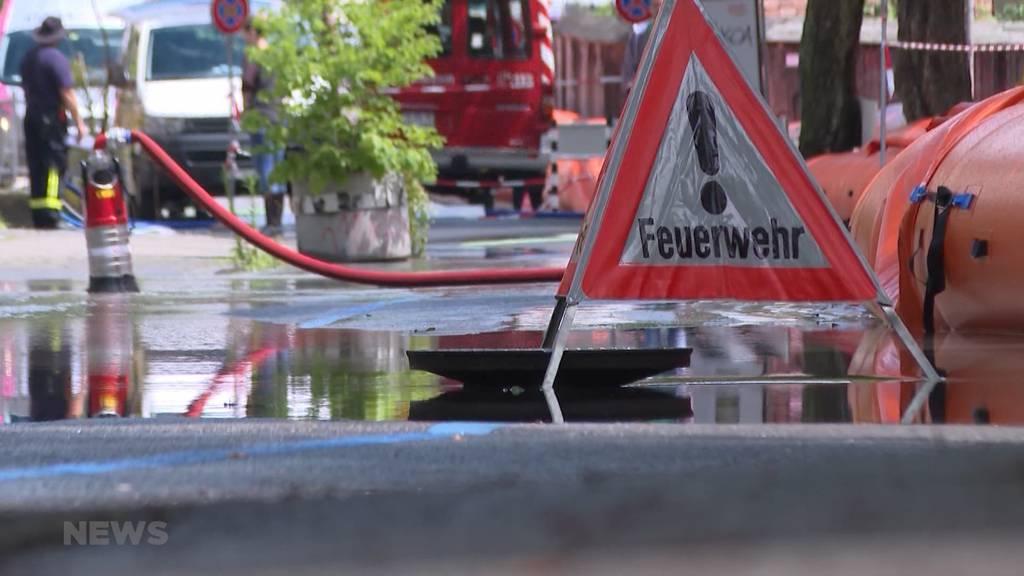 Warum sich Teile des Altenberg-Quartiers kaum gegen das Hochwasser schützen