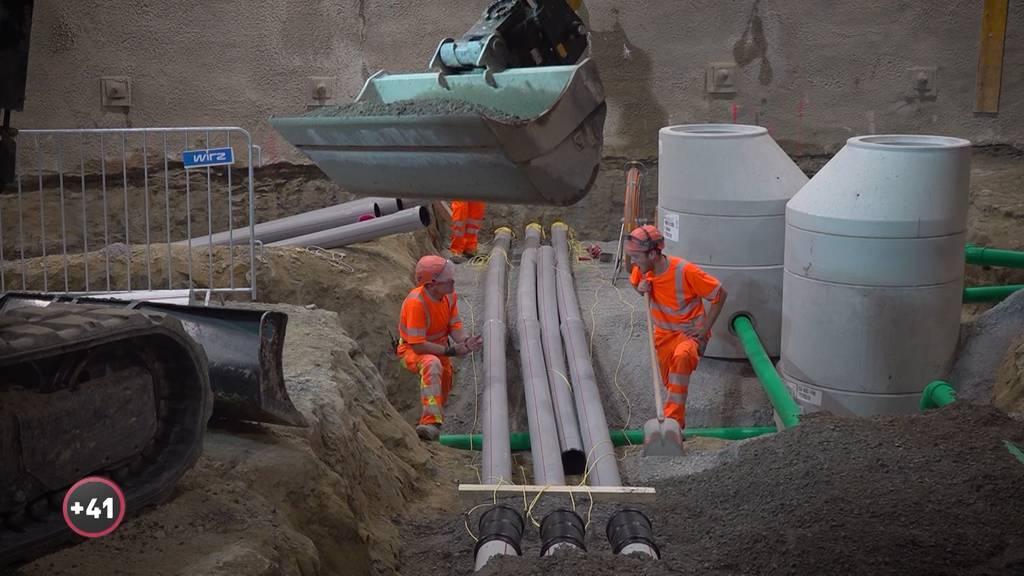 Baustelle Bahnhof Bern: Der Tunnelbauer