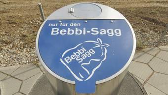 So sehen die Bebbisagg-Unterflurcontainer aus. (Archiv)