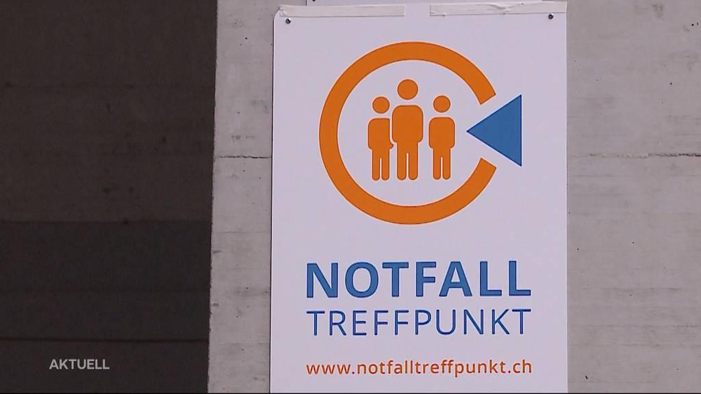 Im Kanton Aargau wurden 299 Notfalltreffpunkte eröffnet
