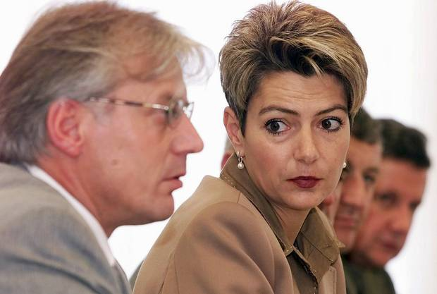 Von 1992 bis 2000 sitzt sie im Wiler Gemeinderat, ab 1996 ausserdem im St. Galler Kantonsrat. (Bild von 2001)