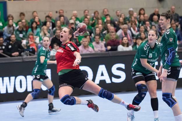 Final Schweizer Cup Frauen: Rotweiss Thun – LC Brühl 21:27