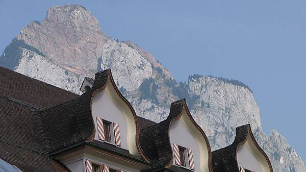 Das Regierungsgebäude in Schwyz