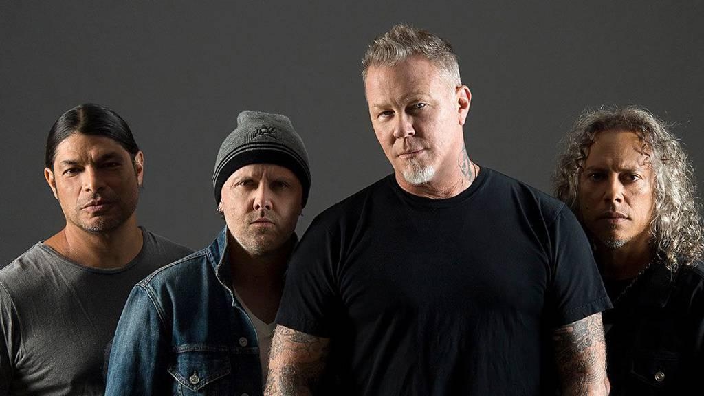 Metallica live in Zürich