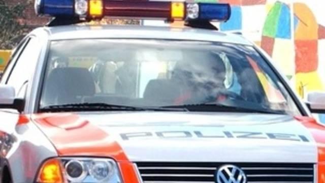 Die St. Galler Polizei konnte den Autofahrer nicht einholen (Symbolbild)