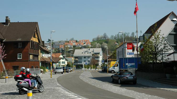 Das Zentrum von Birmensdorf (Symbolbild; Foto: mts)