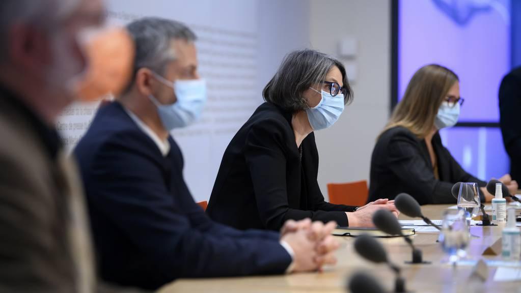 Vertreter des Bundesamts für Gesundheit informierten am Dienstag über die neuesten Entwicklungen.