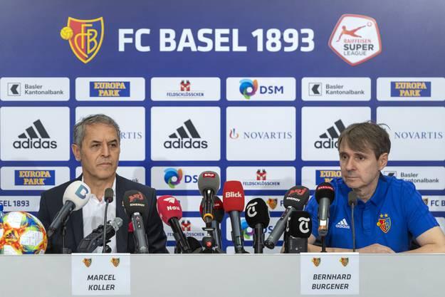Bernhard Burgener nach der Chaos-Woche des FC Basel: «Wir haben dem Verein mehr geschadet als Marcel Koller.»