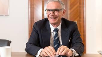 Noch-CS-Präsident Urs Rohner: «Die Dividende soll jedes Jahr um fünf Prozent wachsen.»