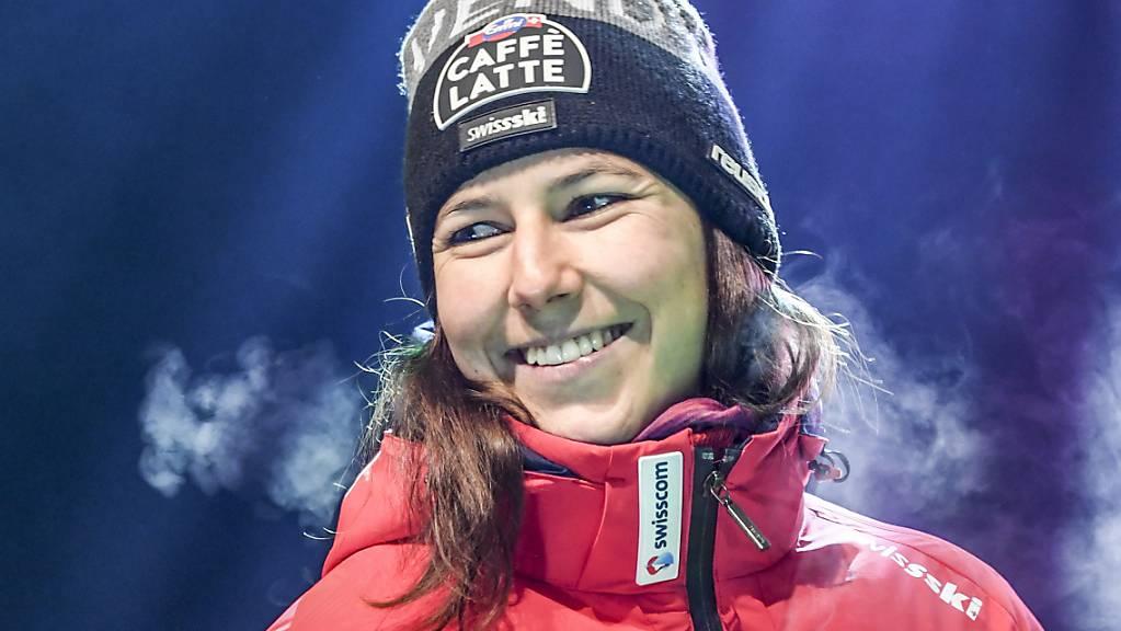 Wendy Holdener erreichte in Levi ihren 23. Slalom-Podestplatz im Weltcup.