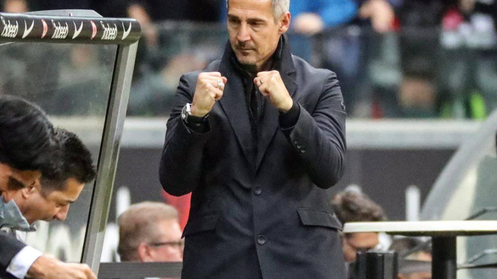 Adi Hütter schreibt mit Eintracht Frankfurt das nächste Fussball-Märchen