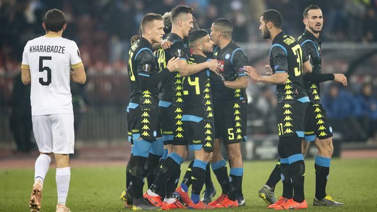 Napoli ist für den FCZ eine Nummer zu gross.