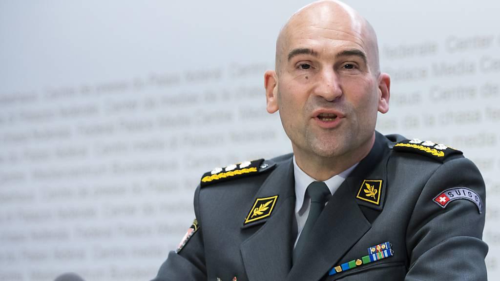 Armeechef Süssli positiv auf Coronavirus getestet
