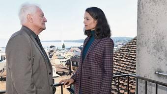 An den Genfer Schalthebeln der Macht: Suzanne Fontana (Isabelle Caillat) und Guillaume Kessel (André Dussollier).
