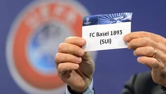 Am Montag wird in Nyon auch der FC Basel aus dem Lostopf gezogen.