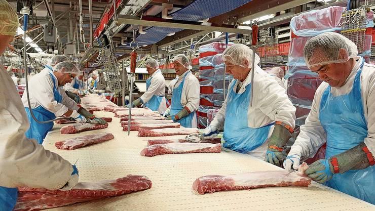 Beim deutschen Fleischverarbeiter Tönnies infizierten sich über 1000 Mitarbeiter mit dem neuen Coronavirus.