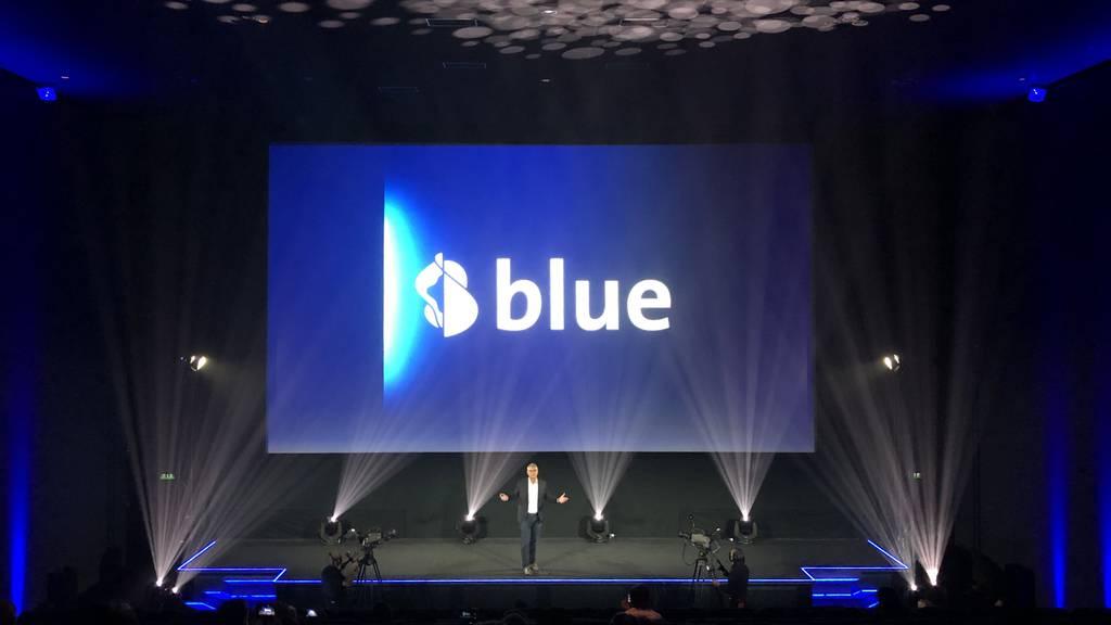 TV, Bluewin, Kitag und Teleclub werden neu zu «Blue»