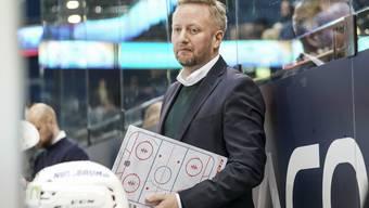 Glaubt daran, dass seine Mannschaft die Serie noch wenden kann: EHCO-Headcoach Fredrik Söderström