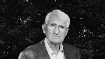 Jürgen Habermas (90) – Intellektueller und Philosoph: «Jede dieser Rollen so spielen, dass die jeweils anderen gleichzeitig sichtbar bleiben.»Isolde Ohlbaum/laif