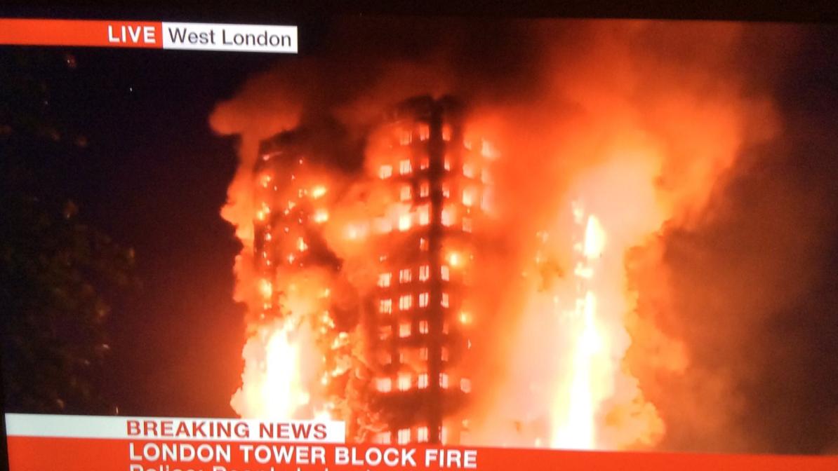 Mehrere Tote bei Inferno in Londoner Hochhaus