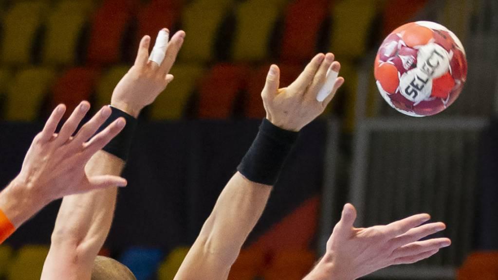 Die Kadetten Schaffhausen, Pfadi Winterthur und Kriens-Luzern machen den Qualifikationssieg in der Handball-NLA unter sich aus