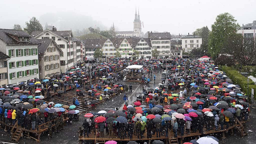 Die Glarner Regierung will die Landsgemeinde so belassen, wie sie ist.