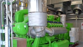 Eine imposante Anlage: Das neue Blockheizkraftwerk bei der BV Kompostierung AG Oensingen