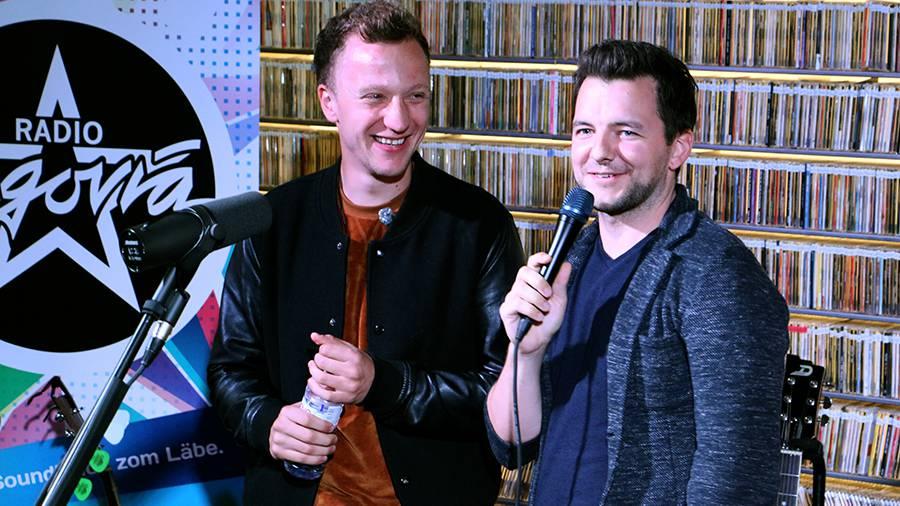 Im Talk mit Oliver Wagner sprach Joris über sein neues Album «Schrei es raus» (© Radio Argovia)
