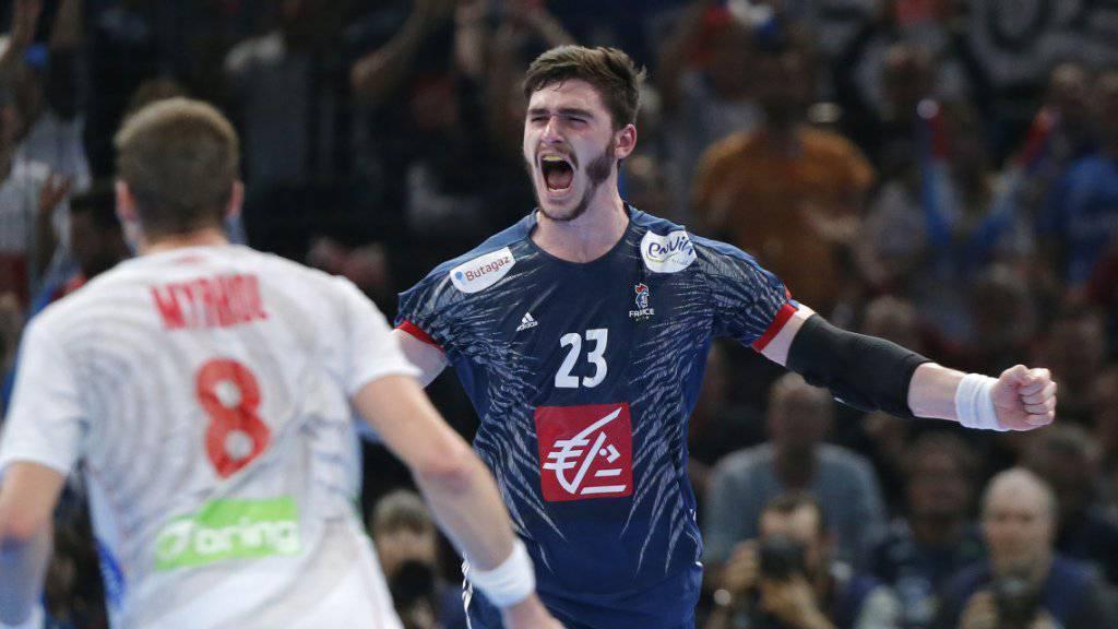 Zum sechsten Mal seit 1995 Weltmeister: Frankreichs Handballer (im Bild Ludovic Fabregas)