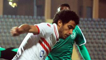 Omar Gaber in Aktion