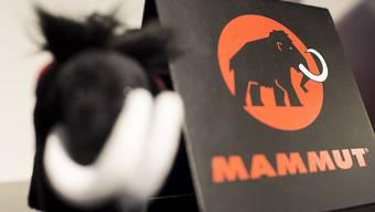 Das Logo der Schweizer Textilmarke Mammut (Archivbild).