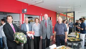 Mit Sabina Rüttimann (mitte) ist erstmals eine Frau an der Spitze der Spitalführung.